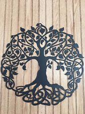 17 INCH METAL Tree of Life CNC Plasma Cut
