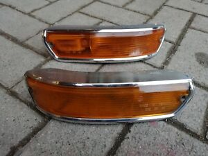 BMW E10 02 1600-2 1602 1802 2002 turbo Alpina Baur OEM Amber Euro Turn Signals