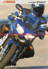 YAMAHA FZS 1000 Fazer - 2001 : Brochure - Dépliant - Moto                 #0621#