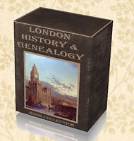 610 History Genealogy London Books on 3 DVDs - Local History Parish Registers B0