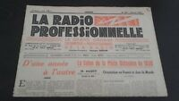 Journal Monthly La Radio Professional N°180 January 1950 ABE
