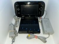 Nintendo Wii U 32GB Deluxe Console w/ Game Pad & 2 Games -Complete Bundle Tested