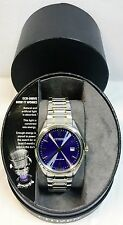 Citizen Eco-Drive Mens Two-Tone Stainless Steel Solar Watch AU1059-51M NEW