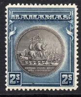 Bahamas 2/- c1931-46 Mounted Mint Stamp (2496)