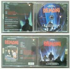 CD OST Horror DEMONI Claudio Simonetti Bava colonna sonora no mc lp dvd vhs(S1)