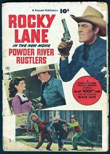 Rocky Lane #2 - Last Photo Back, $0.10 1950, Fawcett - GD
