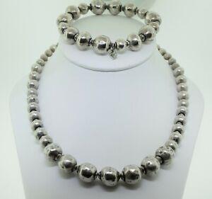 Silpada SET Atmospheric Bead Ball Necklace N1953 & Bracelet B1998 $348