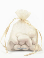 100 Organza Wedding Favor Bags, 5 x 8 Inches,  Jewelry Pouch, 29 COLORS