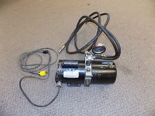 Leeson Hydraulic Pump Motor C6C17NZ2B John Barnes Ram Press 1/3 HP Automotive
