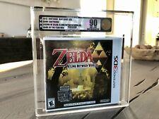 VGA Zelda A Link between Worlds VGA 90 Gold Sealed Nintendo 3DS SNES NES Gameboy