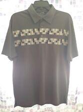 Travis Mathew Golf Polo Shirt Poly Logitech Gray..Size Large. Last one on eBay!
