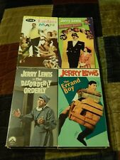 The Family Jewels +  Errand Boy + Ladies Man + (VHS x 4) Jerry Lewis COMEDY LOT