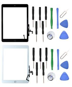 Touch Screen Glass Digitizer Replacement for The New iPad 5 2017 5th Gen +Tools