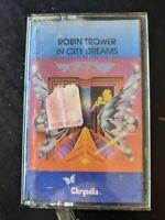 Robin Trower - In City Dreams (Chrysalis) Cassette Tape *NEW