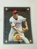 F43838 1998 Leaf Fractal Foundations Scott Rolen /3999 Phillies