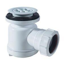McAlpine STW1 Shower Easy Clean High Fast Flow Shallow Waste Trap White