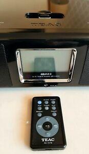 BOXED,QUALITY REMOTE CONTROL TEAC SR-L200I TABLE RADIO ALARM CLOCK MP3 IPOD DOCK