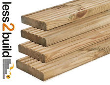 B GRADE TREATED DECKING BOARDS 32x125mm 4.8M LONG TIMBER