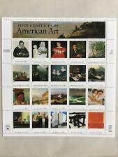 USA Briefmarken, Gemälde, amerikan.Künstler, MNH/postfrisch im Bogen ungefaltet