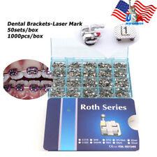 Roth MBT Brackets Dental Orthoodntic Brackets Mini 0.022 3-4-5Hook Number Mark