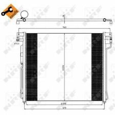 NRF Condenser, air conditioning EASY FIT 35582