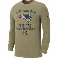 New England Patriots Mens 2019 Salute to Service Long Sleeve Tee