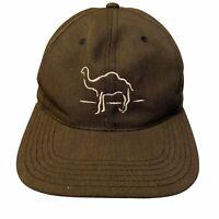 Vintage Camel Cigarettes Hat Snapback Cap Black Promo Advertising Joe Camel