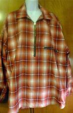 Fire Ice Sportswear Windbreaker Mens Size L Plaid Jacket Vintage