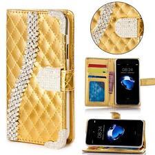 Handy Tasche Schutz hülle für Samsung Galaxy S5 Mini Flip Cover Case Gold K917