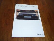 Opel Astra Prospekt 08/1994