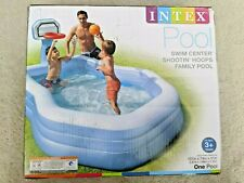 INTEX Shootin Hoops Family Swimming Pool  Kids Summer Fun  **IN HAND**