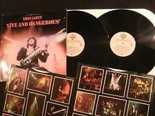 Thin Lizzy - Live and Dangerous - 1978 Vinyl 12' Lp.x 2/ Hard Rock Aor