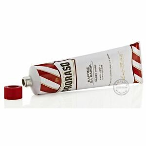 CLEARANCE - Proraso NEW Shaving Cream Tube - Sandalwood and Shea Butter - 150ml