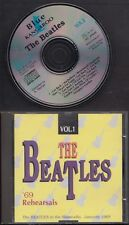 THE BEATLES '69 REHEARSALS The Beatles In The Filmstudio January 1969 CD