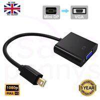 Mini Display Port DP Thunderbolt to VGA Converter Adapter for Apple MacBook iMac