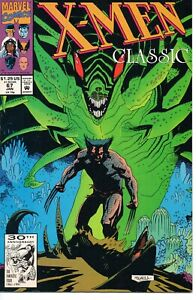 X-Men Classic #67 (January 1992, Marvel) Wolverine Mike Mignola Cover VF-