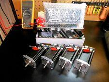 Gecko G540 Rev8, & 4 Nema 23 600oz 8mm Dual Shaft & 48v 12.5a Power Supply