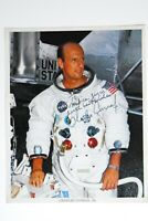 CHARLES CONRAD JR APOLLO 12 ORIGINAL SIGNED 8X10 NASA MOONWALKER 1969.