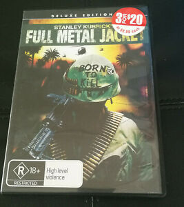 Full Metal Jacket DVD Stanley Kurbrick War Film