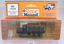 Roco Minitanks 1/87 No. 115 S Truck GMC-CCKW-353 2,5t LKW M35 US-Army OVP #237
