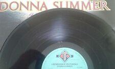 Donna Summer - I Remember Yesterday - Vinyl LP (Ex - VG)