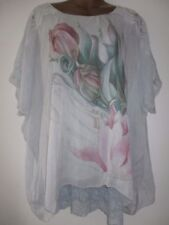 08d29b08117e6a Silk Tops   Shirts Plus Size for Women for sale