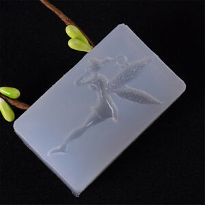 Lovely Fairy Shape Mold DIY Decoration Mobile Phone Tools Jewelry Silicone L`hw