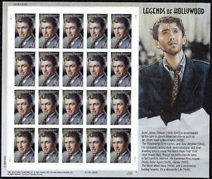 2007 JAMES STEWART STAMPS 13th Legends of Hollywood MNH Sheet 20x41¢ #4197 Jimmy