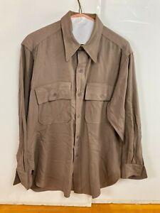 Needlecraft WW2 Military Regulation U.S. Army Officer Shirt
