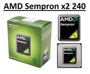 AMD Sempron X2 240 Dual Core Processor 2.9 - 3.3 GHz,Socket FM2, 65W CPU