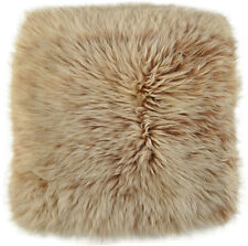 UK Lambskin Pad Seat Cushion 37 x 37 cm Fox Snow Top Lambskin Pad