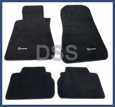Genuine Mercedes Carpet Mats Set 190 190E 190D (84-93) Black OEM Q6680169