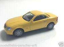 Herpa Mercedes Benz SLK OVP B6 600 5904 gelb (JF 302)