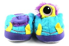 RARE STOMPEEZ ONE-EYED MONSTER SLIPPERS SMALL 9-11 BY PREXIO POPS UP